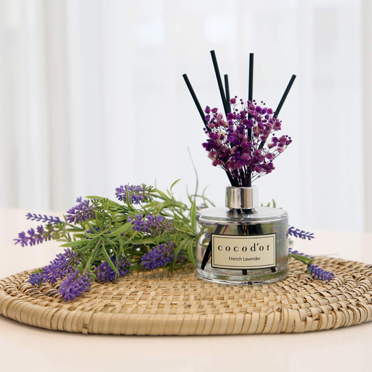 Cocod'or Flower Diffuser/6.7oz/Black Cherry/2 Pack by Cocod'or (Image #5)