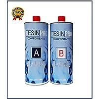 Resina epossidica Ultra Trasparente kg 1,6 Effetto acqua