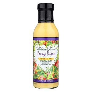 Walden Farms Calorie Free Honey Dijon Dressing, 12 Fluid Ounce -- 6 per case