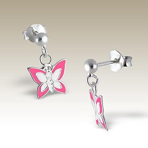 Amazon.com: Mariposa arete, zarcillos colgantes con mariposa ...
