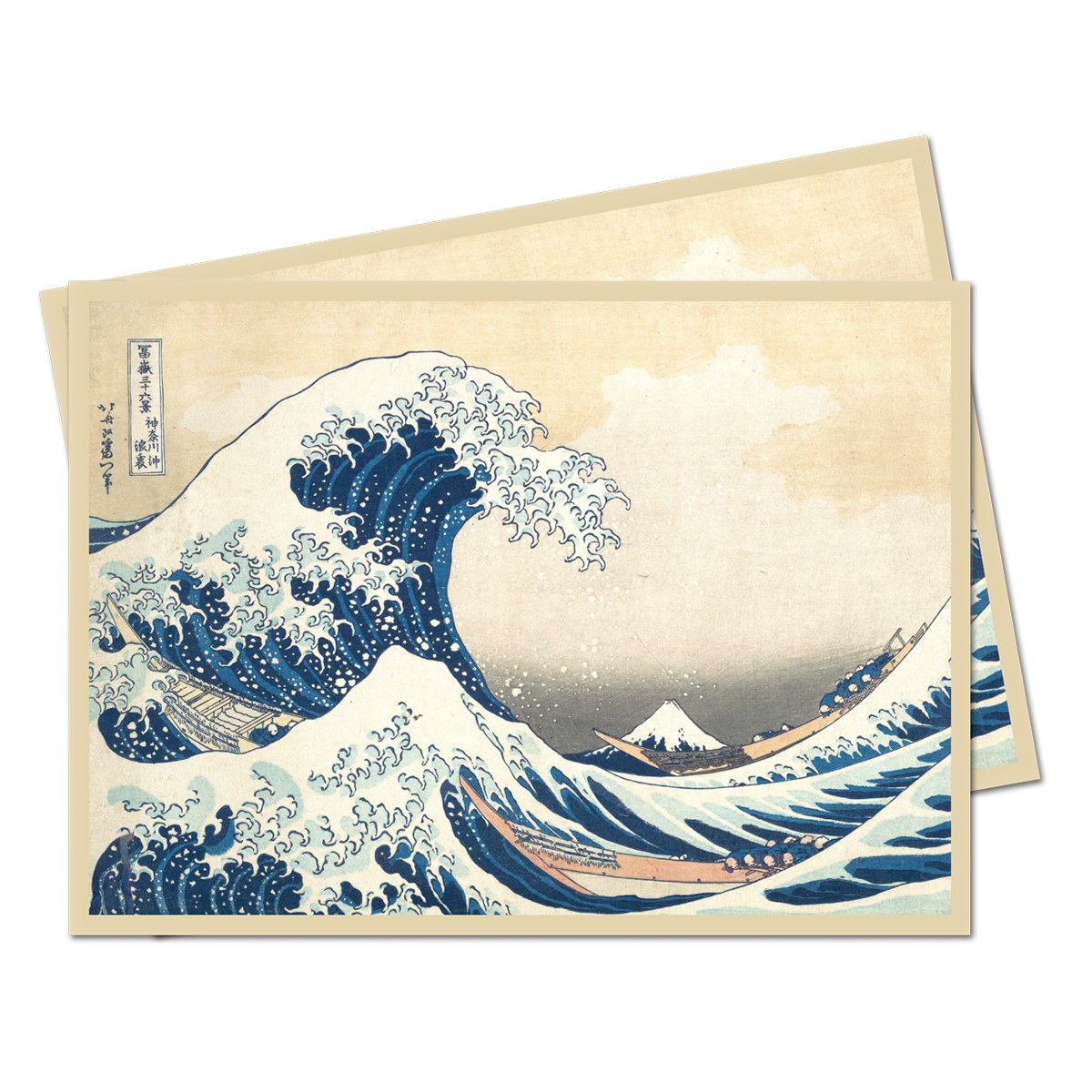 Fine Art Series 'The Great Wave off Kanagawa' Standard (Magic) Deck Protector sleeves (65 count pack)