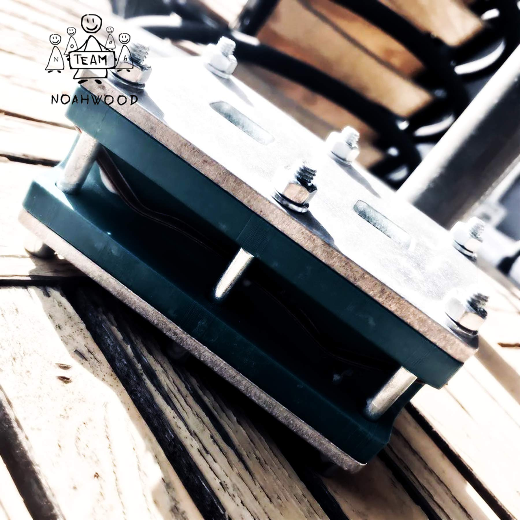 NOAHWOOD Wooden PRO Fingerboards (Deck,Truck,Wheel / a Set) (Happy New Year I) by NOAHWOOD (Image #2)