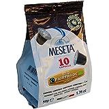 Nespresso Compatible Meseta Coffee Capsules . 100 Capsules of Gourmet Organic(European certified) 100% Arabica Coffee Espresso Compatible with Nespresso Machine