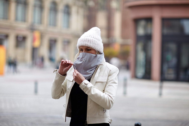 N95 Scalda collo anti-inquinamento scialle Lekko Bandana con filtro sostituibile Ottimo sostituto per la maschera anti-smog