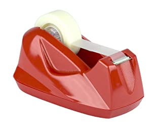 Acrimet Premium Tape Dispenser (Red Color)