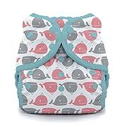 Swim Diaper, Whales Size Two (18-40 lbs)
