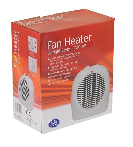 2Kw Upright Fan Heater. Light Indicator