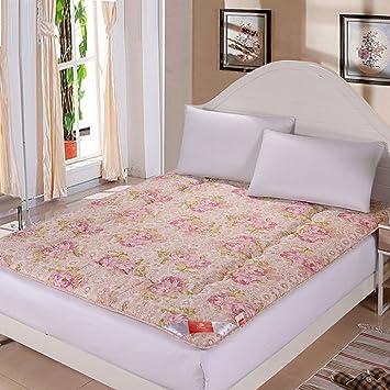 LLSVSDF colchón Tatami Grueso colchón Caliente colchones Dormitorio Estudiante cojín Plegable de la Esponja-A