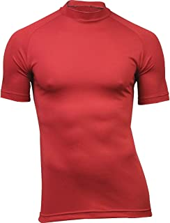 product image for WSI Microtech Short Sleeve Form Fit Shirt, Scarlet Red, Large