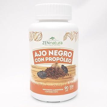 Amazon.com: Ajo Negro con Propóleo – zennatura ajo negro con ...