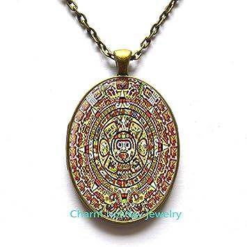 Amazon aztec calendar pendant aztec calendar necklace aztec aztec calendar pendant aztec calendar necklace aztec calendar jewelry aztec pendant aloadofball Images