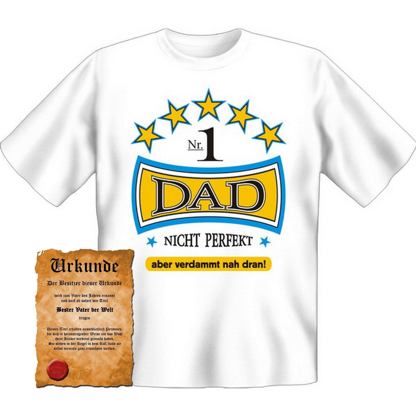 T-Shirt Shirt Papa Dad Weihnachten Geschenk Nikolaus Vatertag Advent ...
