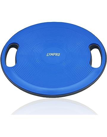 LYMPRO Plataforma de Equilibrio, Ø 40 cm, hasta MAX. 100 kg – Tabla
