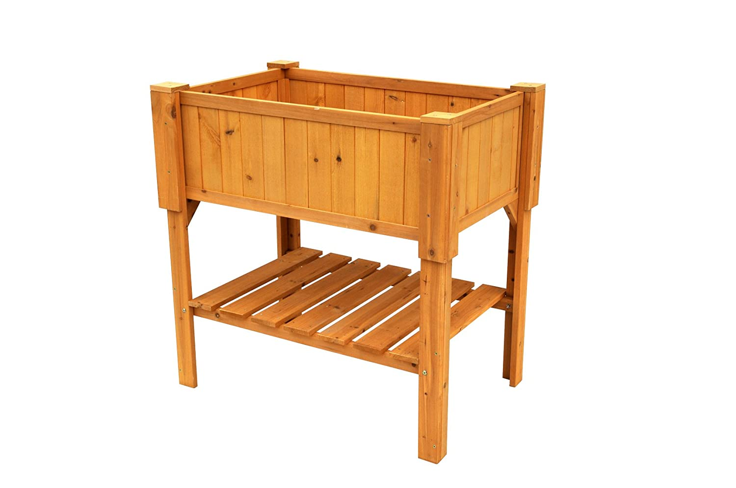Amazon.com : Leisure Season RPB6107 Raised Planter Box : Elevated Garden  Bed : Garden U0026 Outdoor
