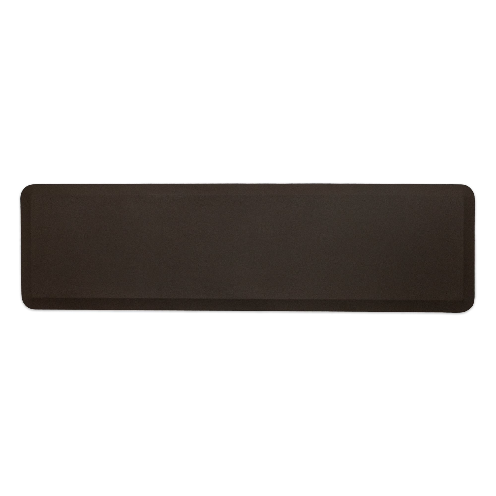 """NewLife by GelPro Professional Grade Anti-Fatigue Kitchen & Office Comfort Mat, 20x72, Earth ¾"""" Bio-Foam Mat with non-slip bottom for health & wellness by NewLife by GelPro (Image #1)"""