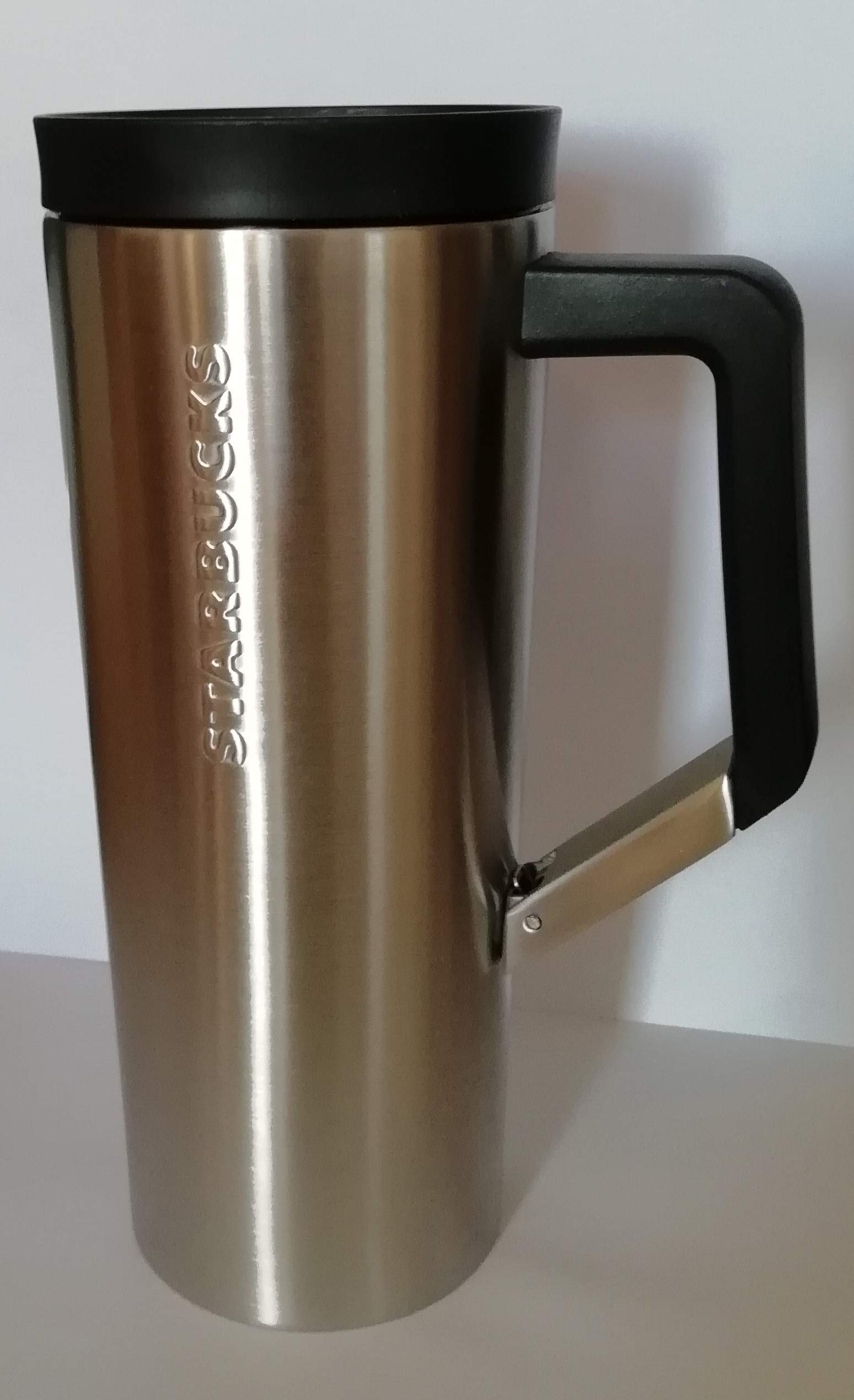 Starbucks stainless steel clip tumble rbrushed 16oz