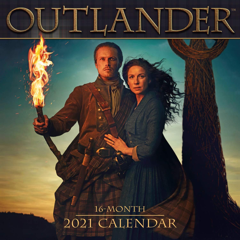 2021 Outlander 16 Month Wall Calendar: Starz: 9781531910242