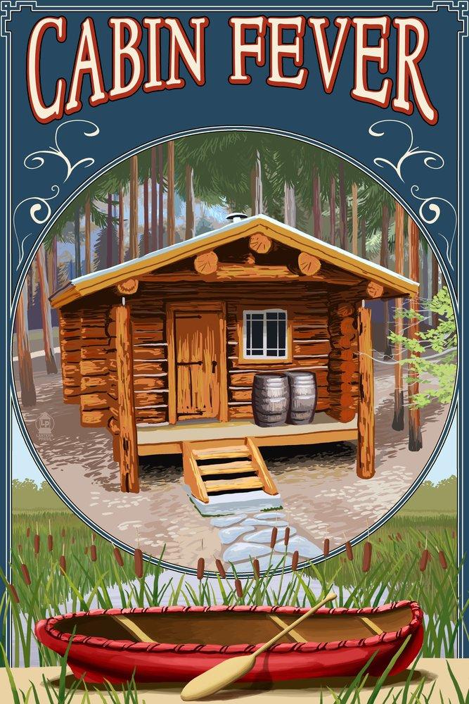 驚きの価格が実現! トーチ湖、ミシガン州 Print – Cabin Cabin in Print Woods 12 x 18 Metal Sign LANT-46204-12x18M B00N5CU3M0 24 x 36 Giclee Print 24 x 36 Giclee Print, いぶしの館 なかよしミート:ec55ae5d --- arianechie.dominiotemporario.com