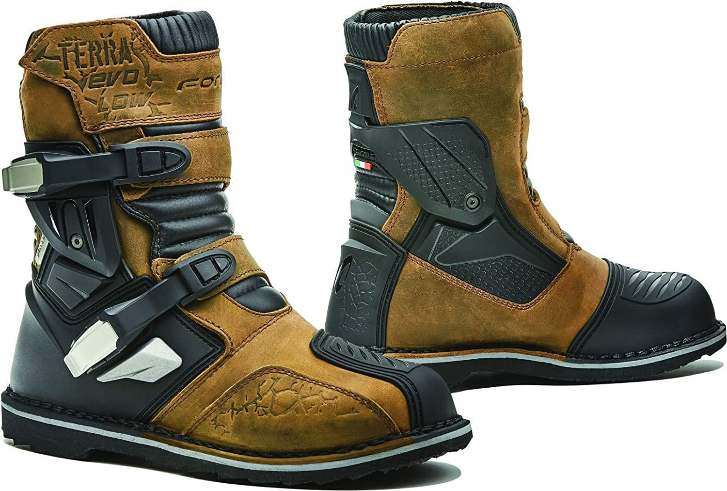 FORMA Terra Evo Low WP CE Approved Motorcycle Boots Brown