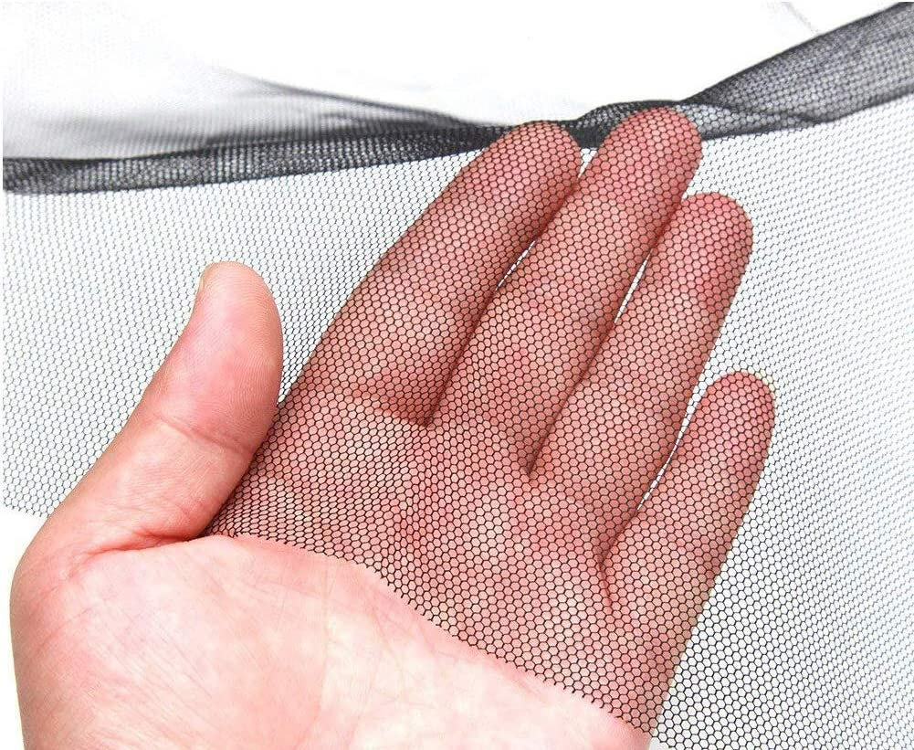Fly Window Screen Mesh Insect Netting 1.3m x 1.5m Bug Bee Mosquito Protector with 2 Rolls Self-Adhesive Tape Black Taylor /& Brown/® 2 Pack Mosquito Net for Windows