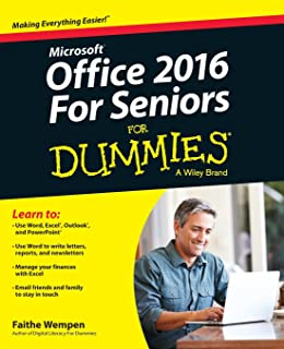 amazon com windows 10 for seniors for dummies 9781119469858 rh amazon com Dummies Guide to Computers Dummies Guide to Facebook