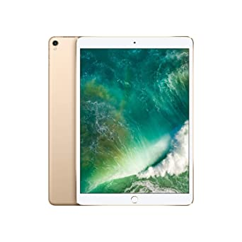 Apple I Pad Pro (10.5 Inch, Wi Fi + Cellular, 256 Gb)   Gold (Previous Model) by Apple