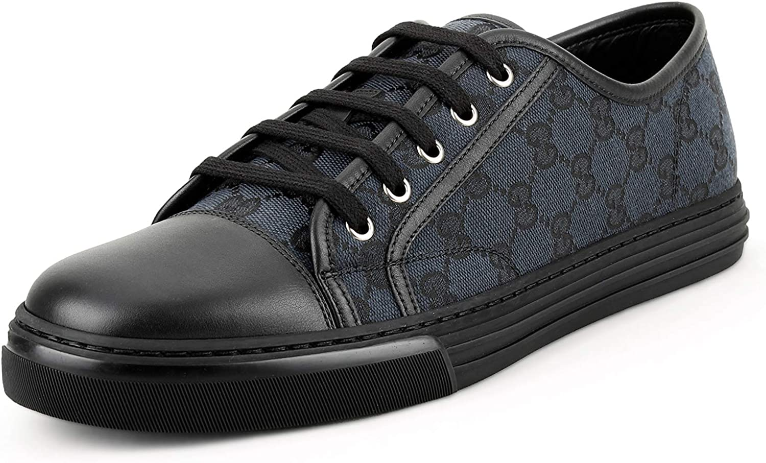 gucci all black shoes