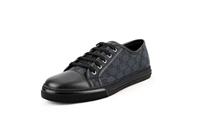 a8ef67b71 Amazon.com: Gucci Men's Original GG Canvas Low-top Sneakers, Piombo ...