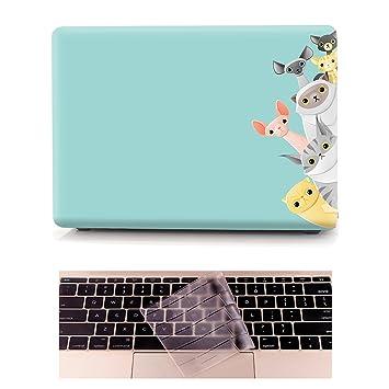 Funda MacBook Air 13 Carcasa - L2W Ordenadores Portátiles para Apple MacBook Air 13.3 Pulgadas [