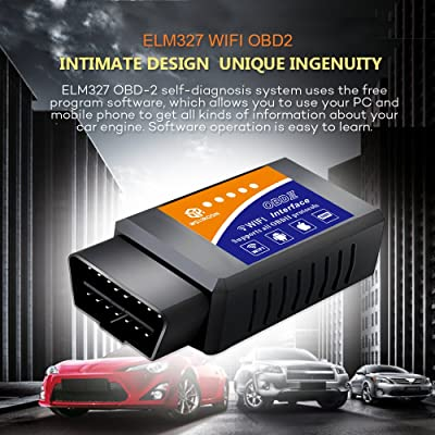 Car WIFI OBD 2 Scan Tools is an OBD2 car code reader that is designed unique ingenuity