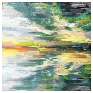 amazon com color explosion by parvez taj painting print on wrapped
