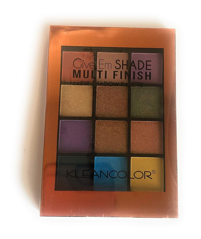 Shade Multifinish eye shadow palette