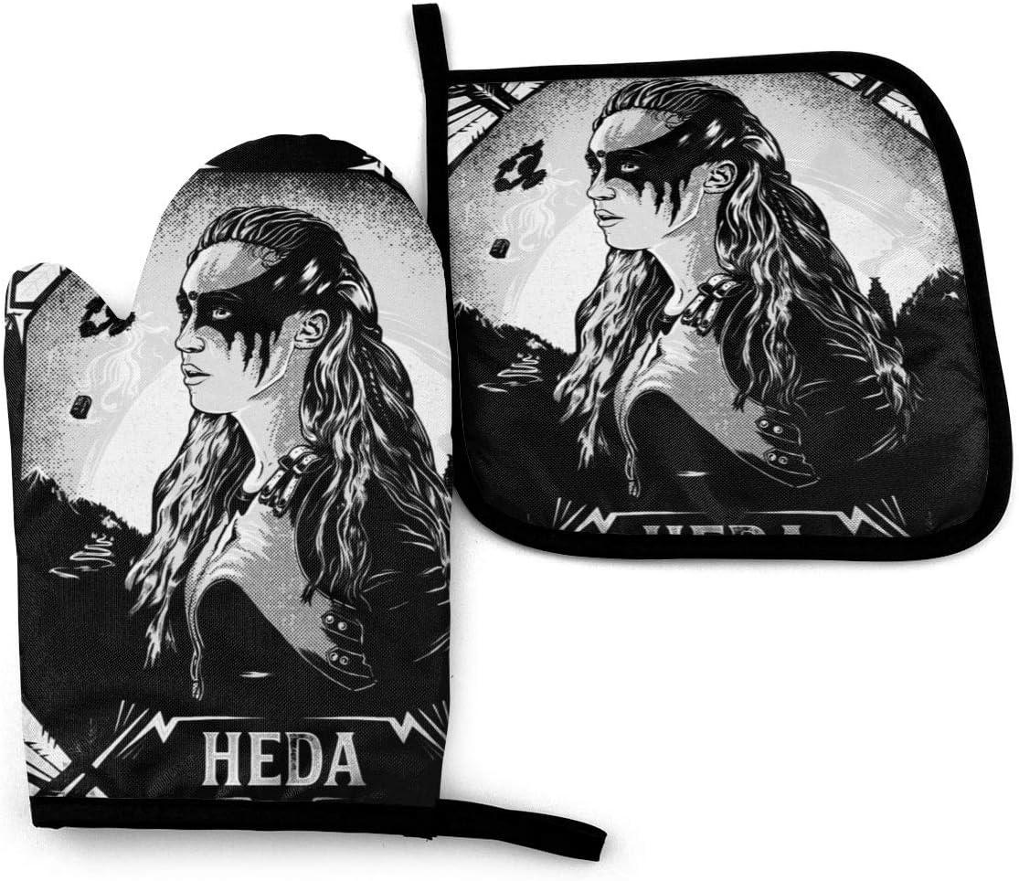 DJNGN The 100 Heda Lexa Bufanda de Microfibra sin Costuras con Calentador de Cuello para Hombres y Mujeres