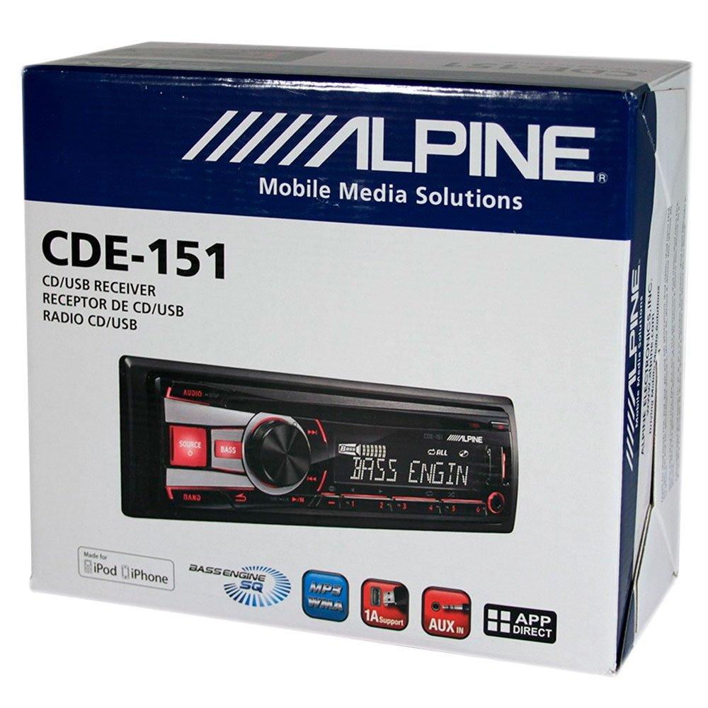713a7mjKtNL._SL1000_ amazon com alpine cde 151 cd mp3 wma single din car cd receiver alpine cde 102 wiring harness at downloadfilm.co