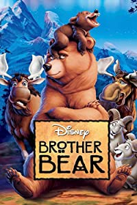DIY 5d Diamond Painting Kits Full Drill Rhinestone Brother Bear Movie Poster Diamond Pictures for Home Wall Decor Cross Stitch for Home(15.8x19.7in)