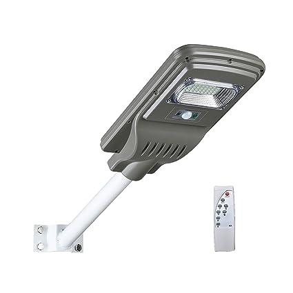 Luz De Solar Luces De Seguridad Del Sensor Movimiento Luces De Calle LED IP65 A Prueba