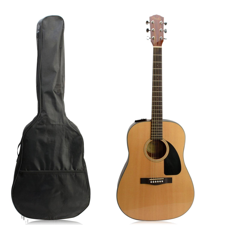 Funda de guitarra acústica de 104 cm, nailon impermeable, color negro Savemy GC466