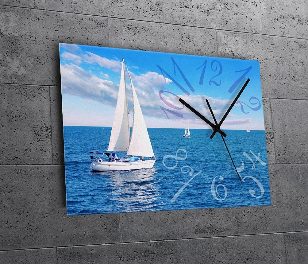 (リムピドゥ)LIMPID Design WALL CLOCK フレームがない アナログタイプ 無騒音 連続秒針 インテリア掛け時計 Ch-016 B07C8YNQB1