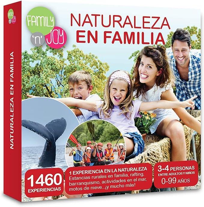 NJOY Experiences - Caja Regalo - Naturaleza EN Familia - Más de ...