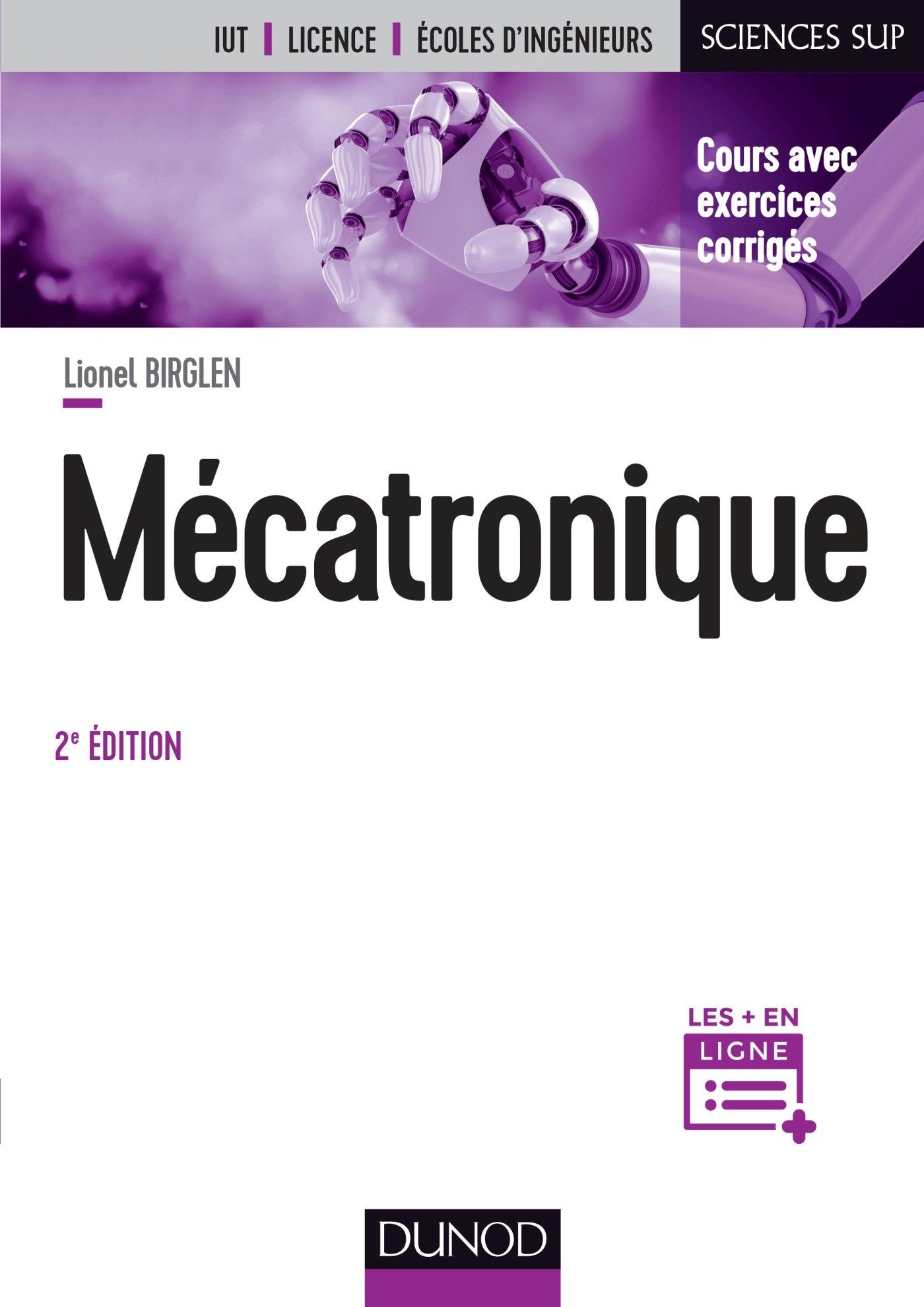 Amazon Fr Mecatronique 2e Ed Birglen Lionel Livres