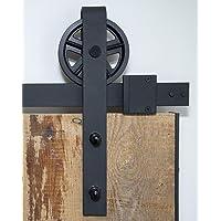 Sistema de puerta corredera, rueda de radios