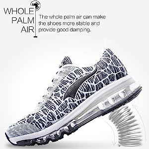 ONEMIX Zapatillas de Running para Hombre Mujer Zapatillas de Deporte Transpirables Casual Zapatos Gimnasio Correr Sneakers 1156 Grey 35: Amazon.es: Zapatos y complementos