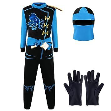 Katara 1771 Ninja Kostum Anzug Kinder Verkleidung Fasching