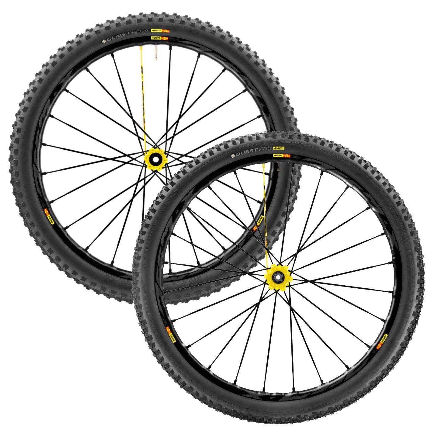 MAVIC(マビック) DEEMAX PRO 27.5 MTB Wheelset 2017 - Front: 27.5x2.50/Rear: 27.5x2.40 [Shimano/Sram] [並行輸入品] B074388772