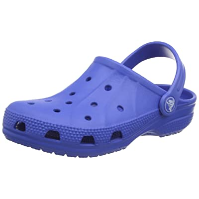 Crocs - Kids Ralen Classic Clog Roomy Fit (c4/5, Sea Blue)