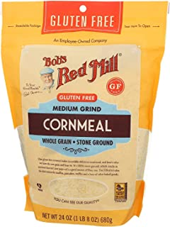product image for Bob's Red Mill Medium Grind Cornmeal Gluten Free 24 Ounce (Pack of 2)