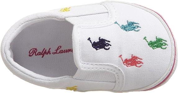 Polo Ralph Lauren 25217 - Primeros Pasos de Lona Unisex bebé ...