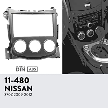 Amazon.com: UGAR 11-463 Trim Fascia Car Radio Installation Mounting Kit for Nissan Primastar (J4) 2011+ / OPEL Vivaro (X83) 2010+ / Renault Trafic II (EL,FL ...