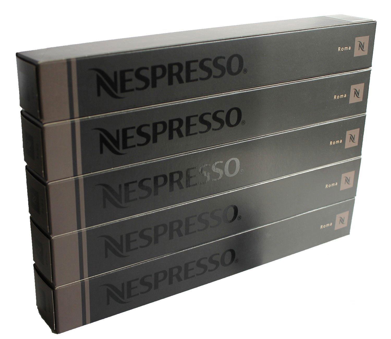 50 Nespresso OriginalLine: Roma, 50 Count - ''NOT Compatible with Vertuoline machines''