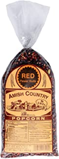 product image for Amish Country Popcorn | 1 lb Bag | Red Popcorn Kernels | Old Fashioned with Recipe Guide (Red - 1 lb Bag)